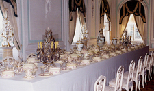 Peterhof Palace White Dining Room - St. Petersburg