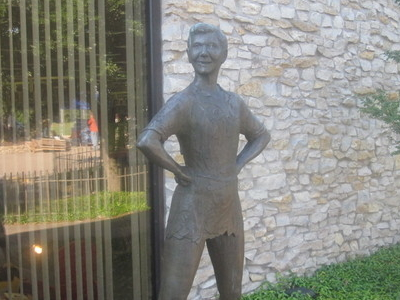 Peter  Pan Statue Weatherford