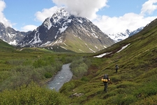 Peters Creek - Mt. Rumble - Chugach Mountains - Alaska