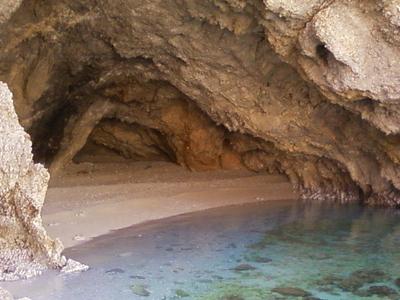 Loutraki Seal's Cave