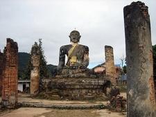 Piawat Temple In Xiengkhouang
