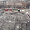 Piazza Del Duomo - View From Top - Milan