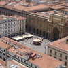 The Piazza As Seen From Giotto's Campanile