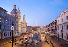 Piazza Navona Evening View