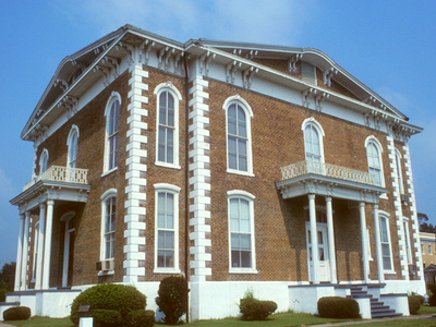 Pickens County Courthouse In Carrollton