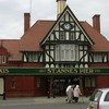 The Tudor Style Entrance In St Annes Pier