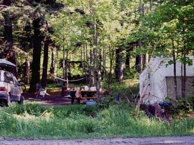 Pike Lake State Forest Campground-Marquette