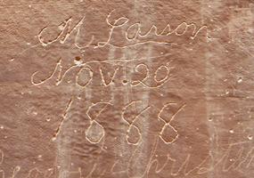 Pioneer Register In Capitol Gorge - Capitol Reef - Utah - USA