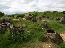 Plain Of Jars In Laos Xiangkhouang