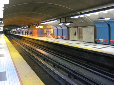 Plamondon Metro Station