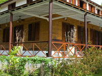 Plantation House - Silhouette
