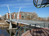 Platte River Pedestrian Bridge - Denver CO