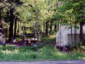 Platte River State Forest Campground