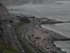 Playa La Estrella From Circuito De Playa Roadway
