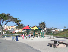 Playground At Moonlight State Beach