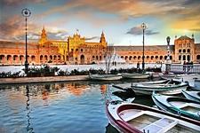 Plaza Espana In Seville - Spain Andalusia