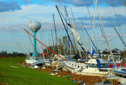 Pleasure  Island  Hurricane  Ike