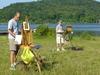Plein  Air  Painters At  Long  Pond Ringwood  2 C  N J