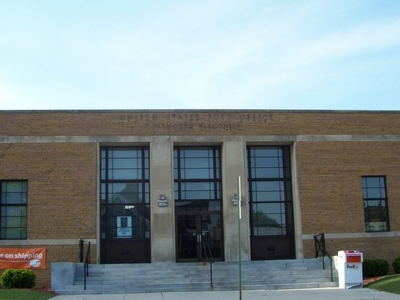 Plymouth Wisconsin Post Office R H P