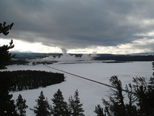 Porcupine Hill Geyser - Yellowstone - USA