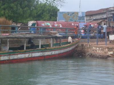 Port Area Of Bubaque