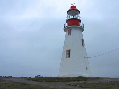 Port Aux  Choix Lighthouse