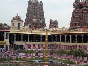 Meenakshi Amã Templo