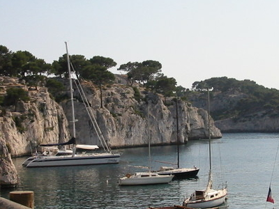 Port-Miou Calanque In Cassis