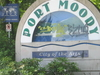 Port Moody Welcome Sign