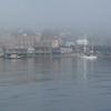 Port Townsend Washington Fog Waterfront