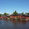 Porvoonjoki At Porvoo In Finland