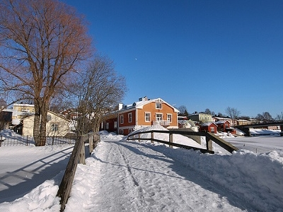 Porvoo Snowfall - Winter View - Finland