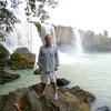 Posing At Dray Nur Falls At Dak Lak