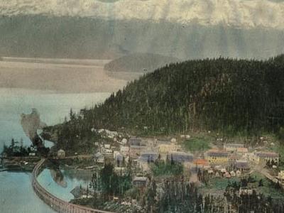 Postcard Cordova Alaska