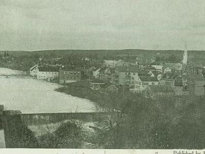 Postcard Danielson C T Birdseye View 1 9 0 9