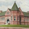 Postcard Prendergast Library Jamestown N Y