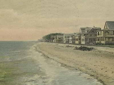 Postcard Laurel Beach Milford C T 1 9 1 0