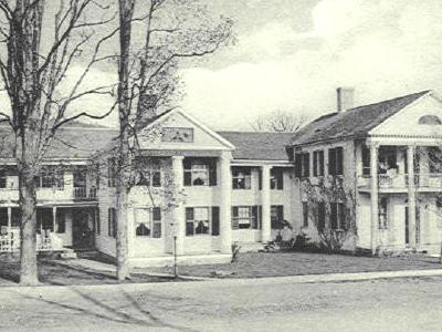 Postcard Maple Shade Inn Salisbury C T 1 9 0 8