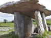 Poulnabrone Dolmen At Burren - County Clare - Ireland