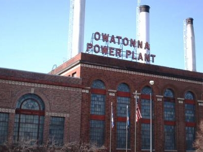 Power Plant Owatonna M N
