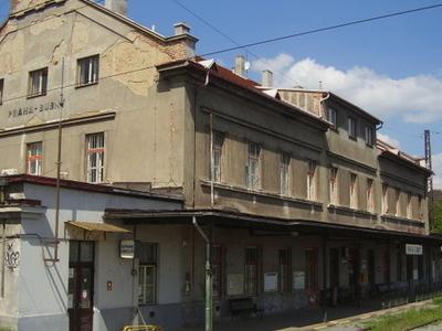 Praha-Bubny Railway Station