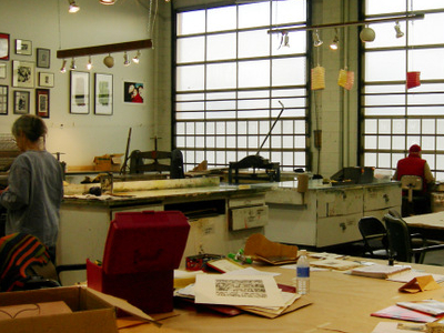 Pratt Art Center Printmaking