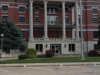 Pratt County Kansas Courthouse