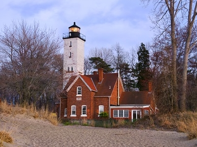 Presque Isle Light - Erie PA