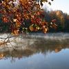 Price Lake Along Blue Ridge Parkway NC