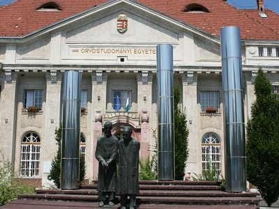 Professors Statue Composition, Debrecen