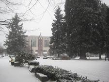 Propstra Square - Esther Short Park Winter