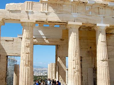 Propylaea Of The Athenian Acropolis - Greece
