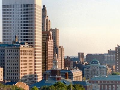 Providence  R I Skyline