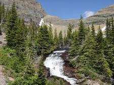 Ptarmigan Tunnel Trail At Glacier - Montana - USA